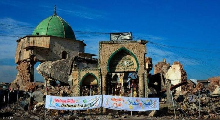 """الإعلان عن موعد إعادة إعمار مسجد تاريخي دمره """"داعش"""" بالموصل"""