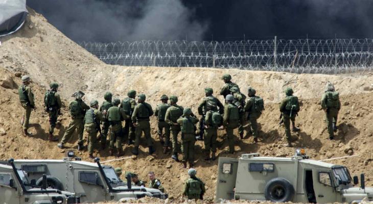 تعقيب جيش الاحتلال على قصف غزّة