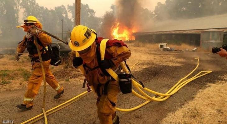 قتلى ومفقودون إثر حريق سفينة بسواحل كاليفورنيا