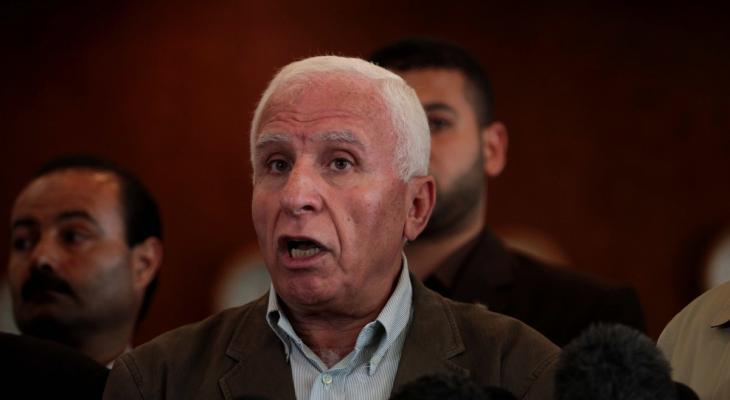 """الأحمد: أي حكومة """"إسرائيلية"""" ستُنفذ قرار الضم تتحمل مسؤولية إنهاء مسار السلام"""