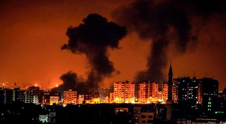 طائرات الاحتلال تستهدف موقعاً للمقاومة شمال قطاع غزّة