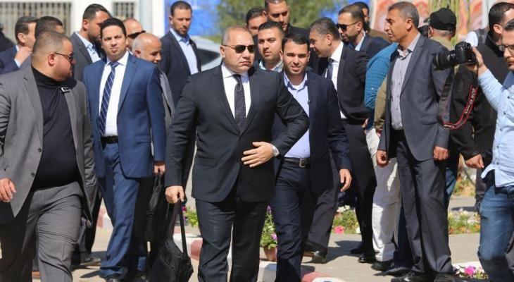 الوفد الأمني المصري في قطاع غزة