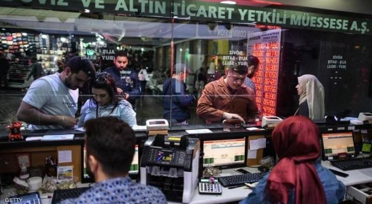"""العملية التركية في """"سوريا"""" تصعد بالليرة لـ""""قمة التقلبات"""""""