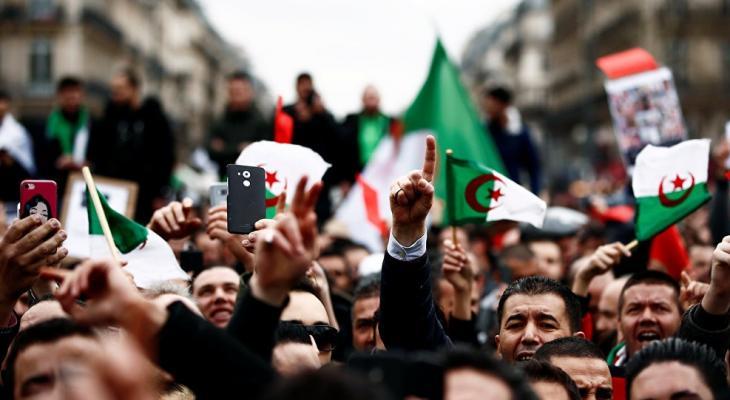 تظاهرة الجزائر