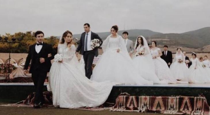 """حفل زفاف في """"داغستان"""" يدخل موسوعة """"غينيس"""" للأرقام القياسية"""