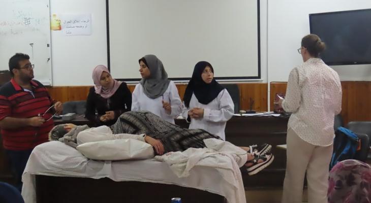 شاهد: مستشفى الولادة يُنَظّم يوماً تدريبياً حول كيفية التعامل مع الحالات الطارئة