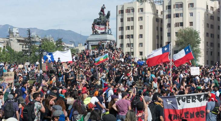 تظاهرات تشيلي