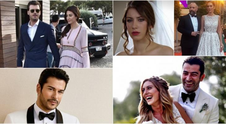 بالفيديو: مشاهير أتراك ارتبطوا بزميلاتهم في الوسط الفنيّ