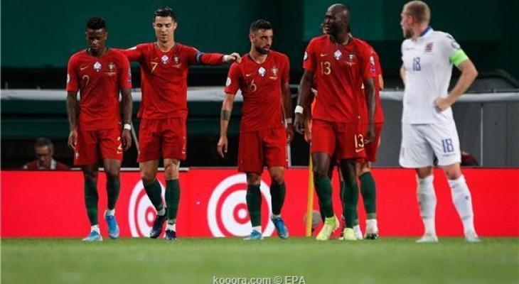 رونالدو يقود البرتغال لفوز ثمين على لوكسمبورج Tjmrl