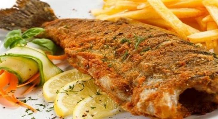 """طريقة عمل """"سمك دنيس"""" مقلي"""