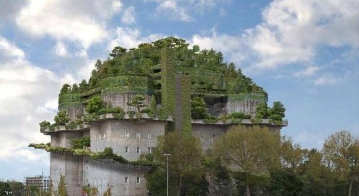 """ألمانيا: خندق نازي يتحول إلى """"فندق"""" فخم"""