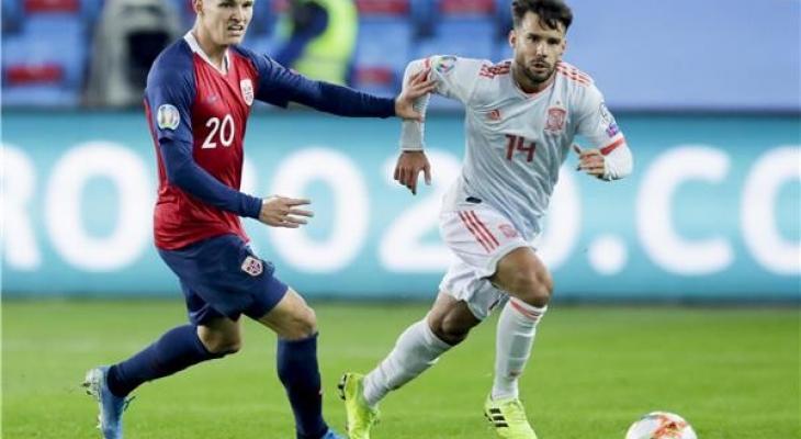 إسبانيا تخسر نقطتين بتعادلها مع النرويج WTu4j