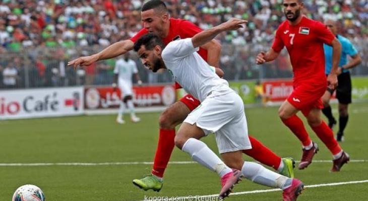 المنتخب الفلسطيني يفرط بالفوز على السعودي ويكتفي بالتعادل Zdyrh