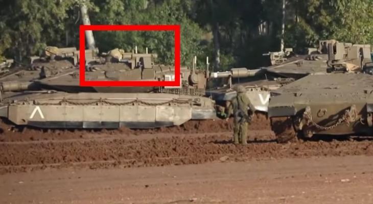 استهداف دبابة