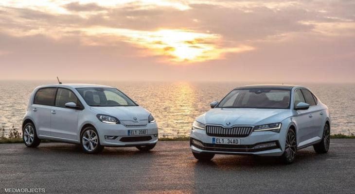 """شركة """"سكودا"""" تطرح طرازين .. منافس جديد في """"عالم السيارات"""" الكهربائية"""