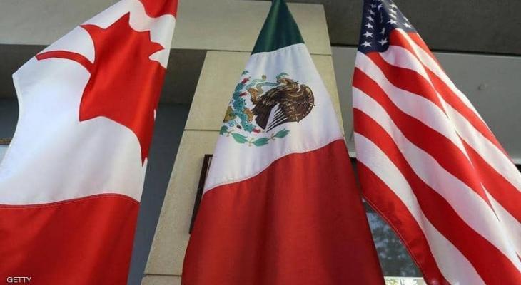 """اتفاق التجارة يستبدل """"نافتا"""" بين الولايات المتحدة وكندا والمكسيك"""