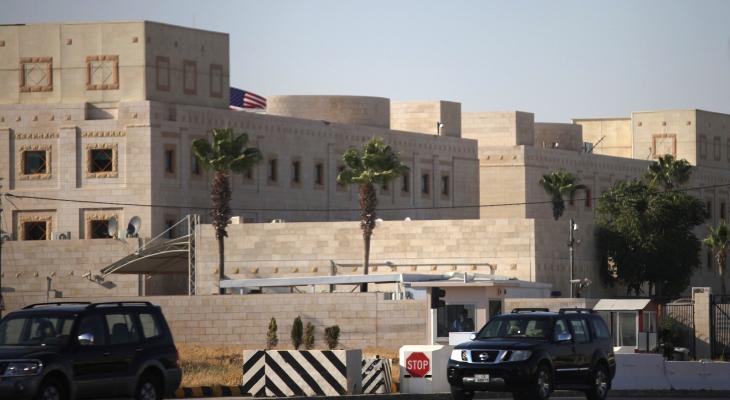 السفارة الامريكية  في عمان