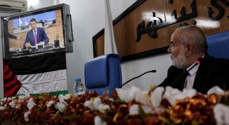 بالفيديو: نواب تيار الإصلاح برئاسة دحلان يُعلنون موقفهم من صفقة القرن