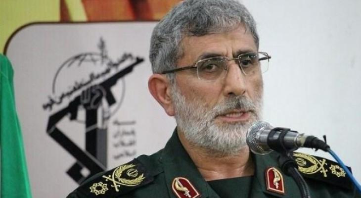 علي قآني قائد فيلق القدس