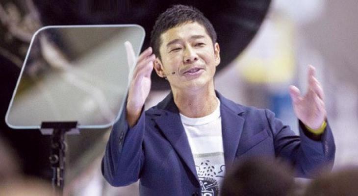 """شاهدوا: ملياردير ياباني """" يوساكو مايزاوا"""" يمنح متابعيه على """"تويتر"""" 9 ملايين دولار"""