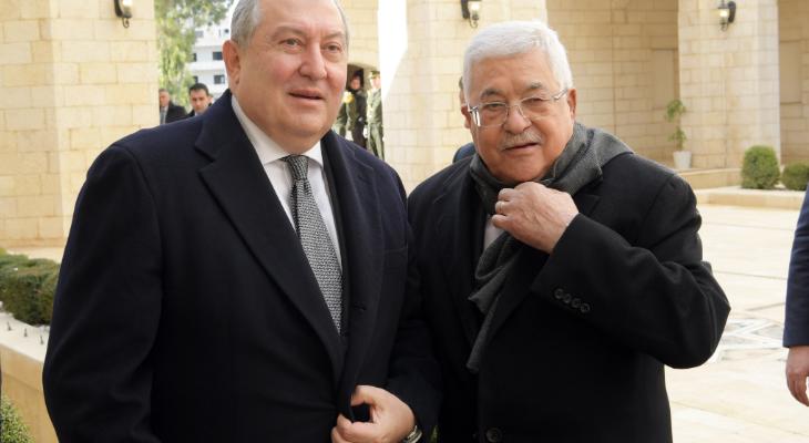 عباس ورئيس ارمينيا