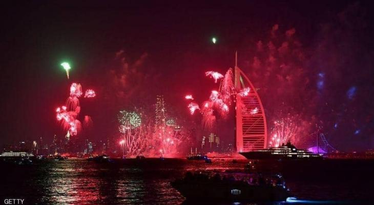 """بالفيديو: نحو """"مليار"""" شخص شاهدوا احتفالات """"دبي"""" بالعام الجديد2020"""