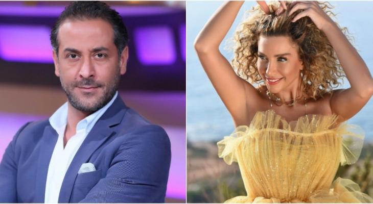 دانا حلبي و عبد المنعم عمايري