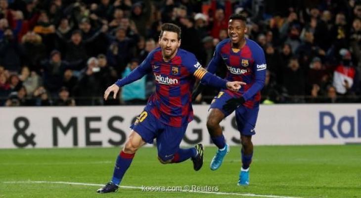 الفوز الاول لبرشلونة في عهد مدربه الجديد RoZnx