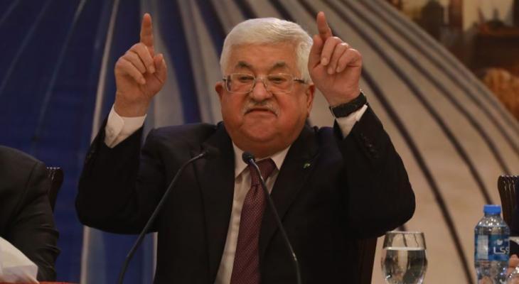 الرئيس القلسطيني محمود عباس