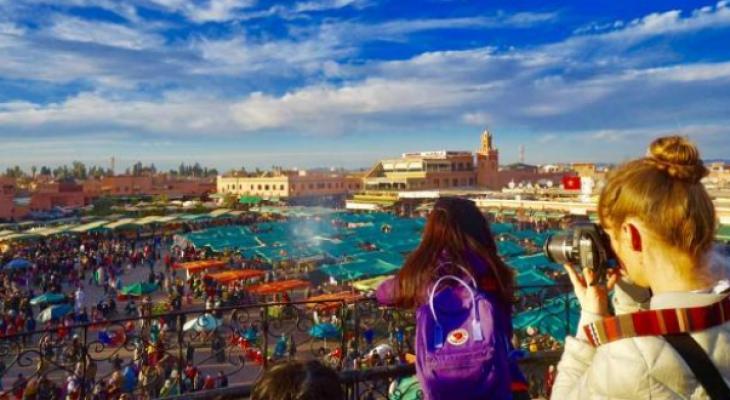 """رقم قياسي السياح الذين زاروا """" المغرب"""" العام الماضي"""