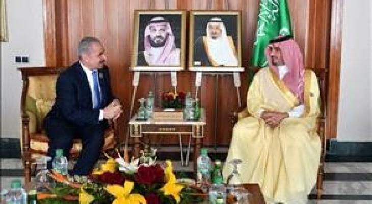 تفاصيل لقاء اشتية مع وزيري الداخلية السعودي والمصري
