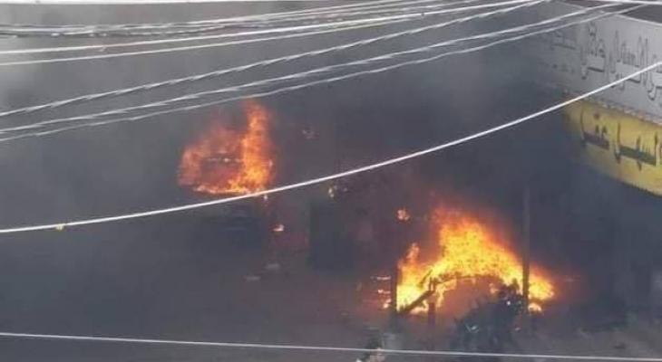 فصائل فلسطينية تنعي قتلى حريق النصيرات