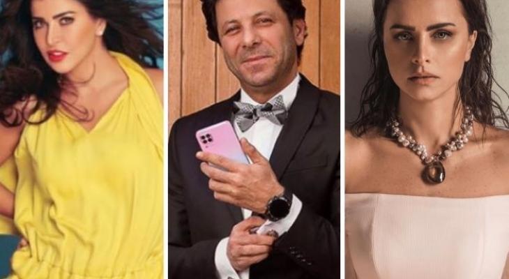 """شاهدوا: النجوم """"إياد نصار ونور وجومانا وعائشة"""" سفراء العرب فى دراما رمضان 2020"""