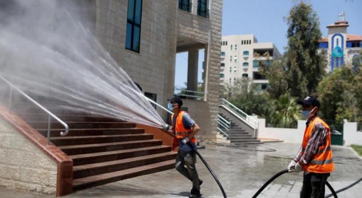 كورونا غزة