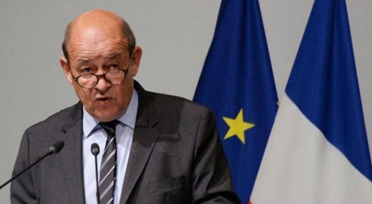 وزير خارجية فرنسا جان إيف لودريان