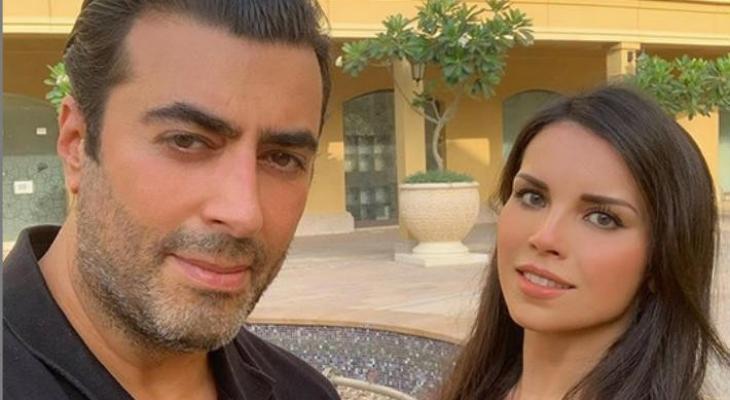 باسم ياخور و زوجته