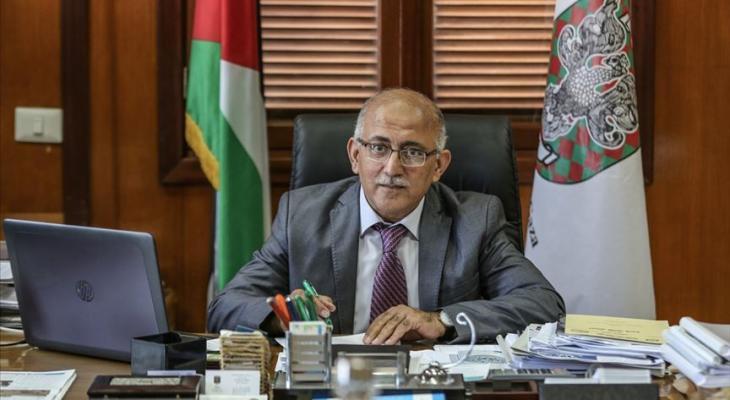 رئيس بلدية غزة يحي السراج
