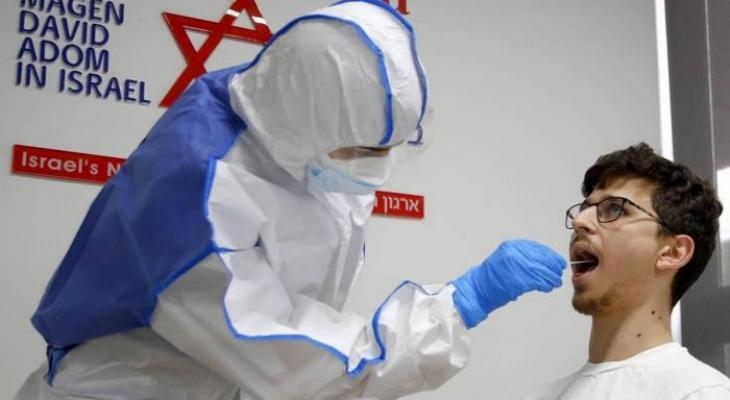 إجراء فحص لكورونا في إسرائيل