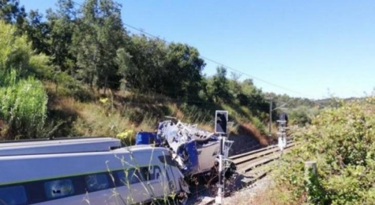 حادث قطار سريع