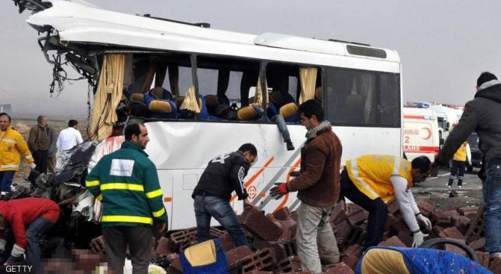 حادث انقلاب حافة في تركيا