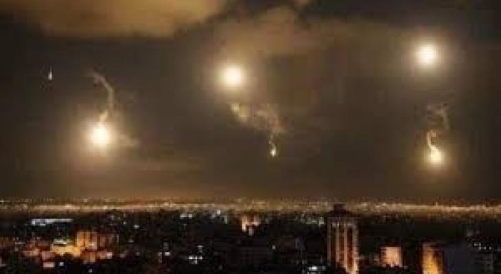 قصف إسرائيلي لسوريا