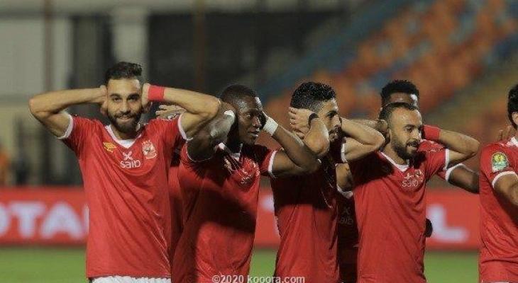 الاهلي المصري يدك شباك الوداد المغربي بثلاثية ويتاهل للنهائي 8JYqu