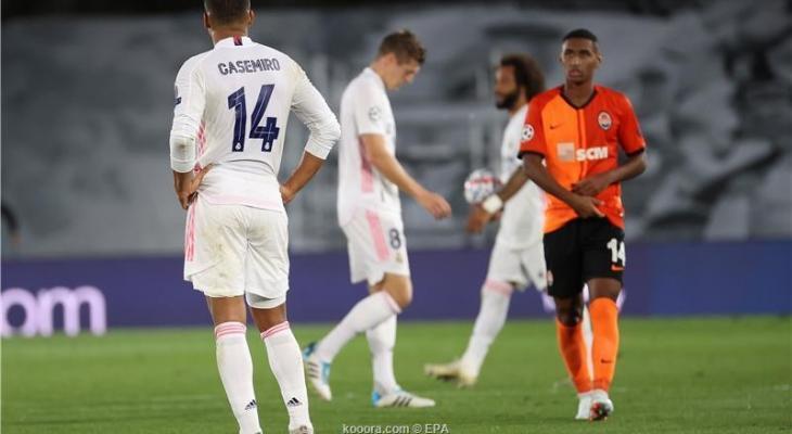 ريال مدريد يتلقى هزيمة ثقيلة على ملعبه  KOERw