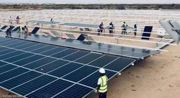 محطة كهرباء شمسية