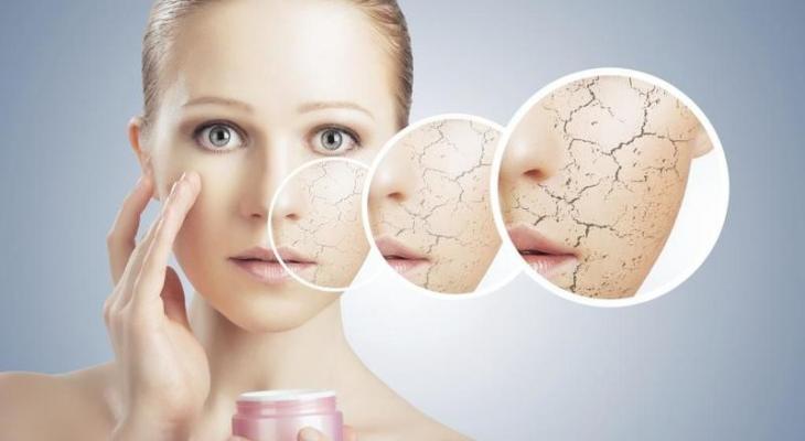 علاج جفاف البشرة