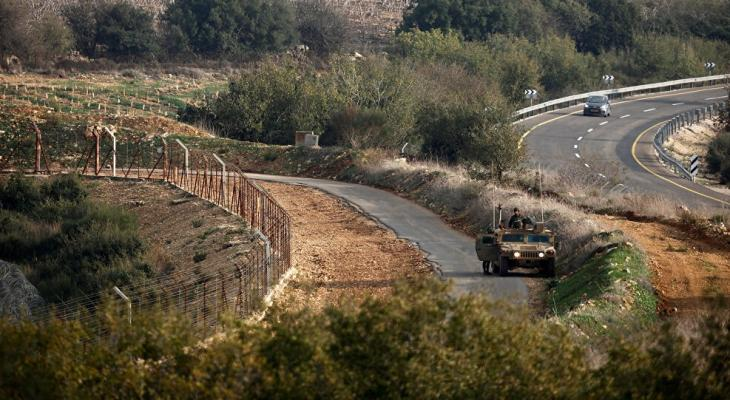 حدود لبنان مع إسرائيل