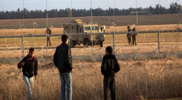 اعتقال شاب حاول التسلل من شرق قطاع غزة.jpg