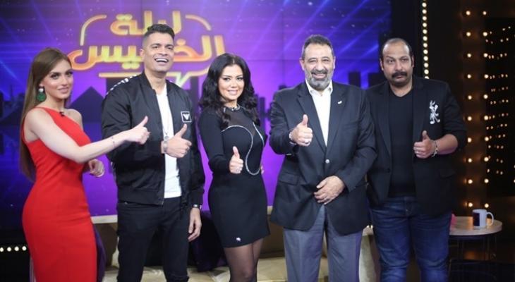 """بالصور: رانيا يوسف وحسن شاكوش """"على واحدة ونص """" في سهرة الخميس .."""