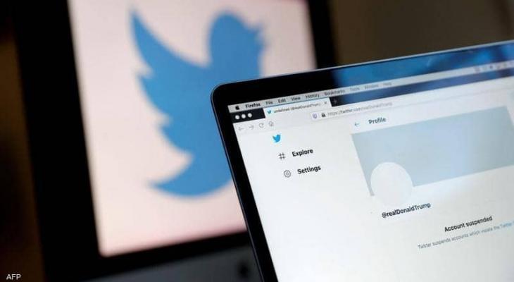سهم تويتر يهوي بعد تعليق حساب ترامب