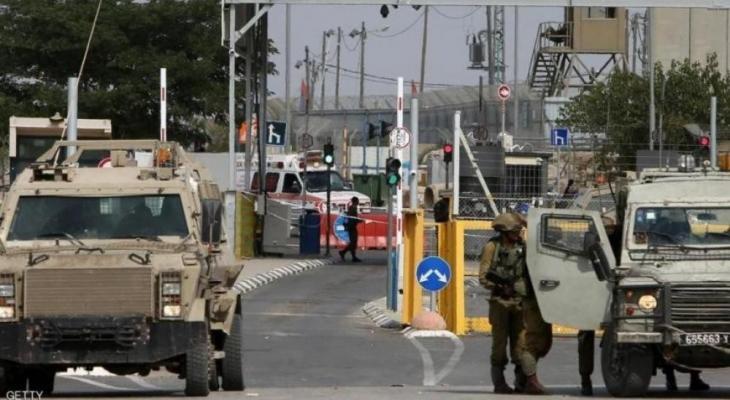 حواجز الاحتلال مع الضفة الغربية